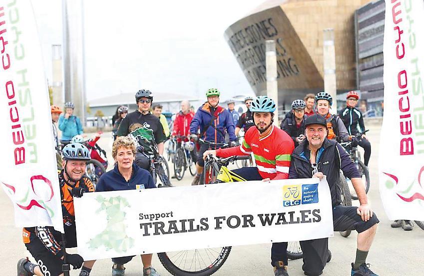 Trails for Wales. Photo Nigel Pugh