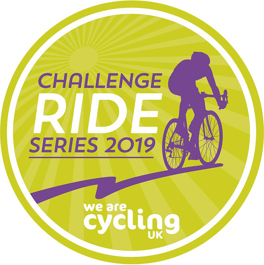Challenge Ride Series 2019 medal