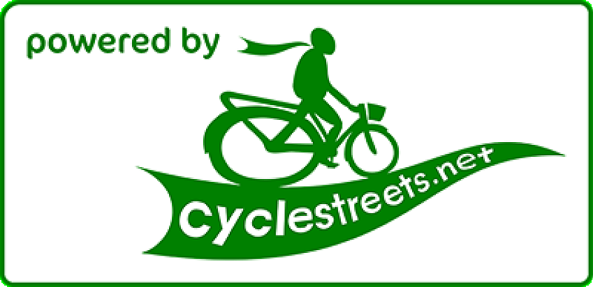 Powered by CycleStreets