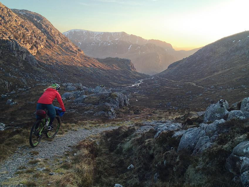 Lee Craigie riding Dundonell to Poolewe