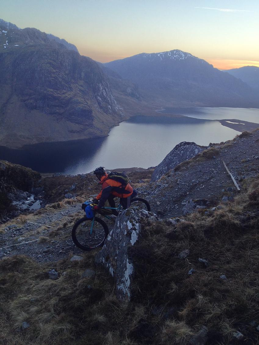 Taking in amazing views from Dundonell to Poolewe