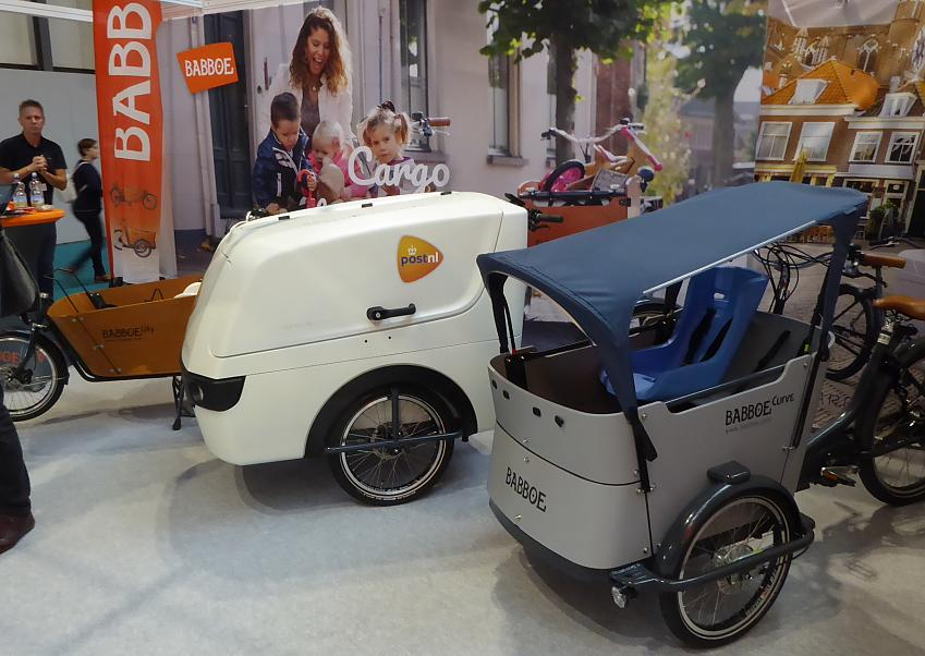 Dutch inspired Babboe cargo bikes.