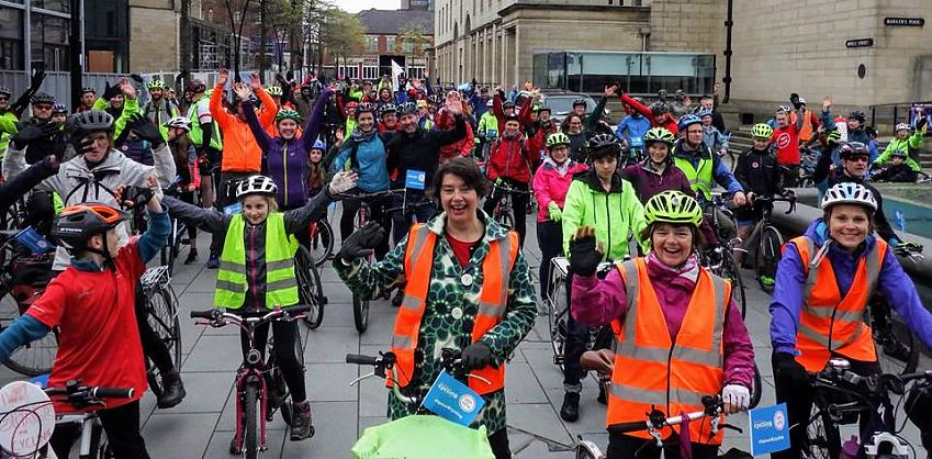 The Sheffield Space for Cycling Big Ride