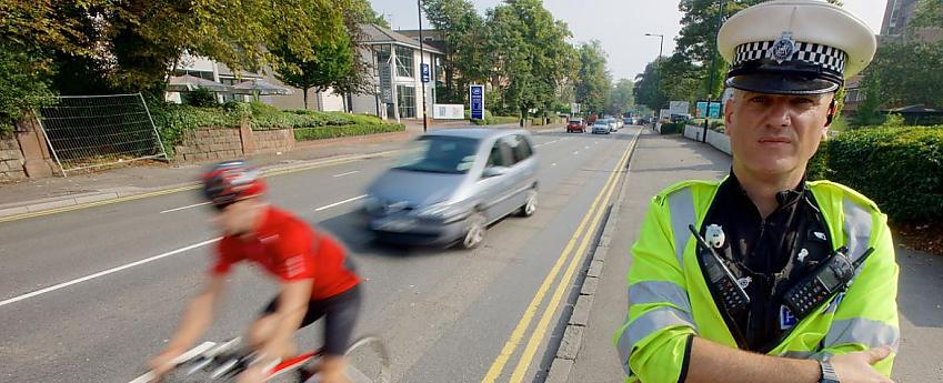 West Midlands Police close pass operation