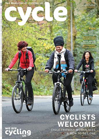 Cycle magazine, front cover June 2018
